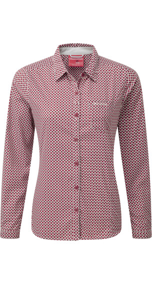 Craghoppers Nosilife Olivie LS Shirt Women Rosehip Pink